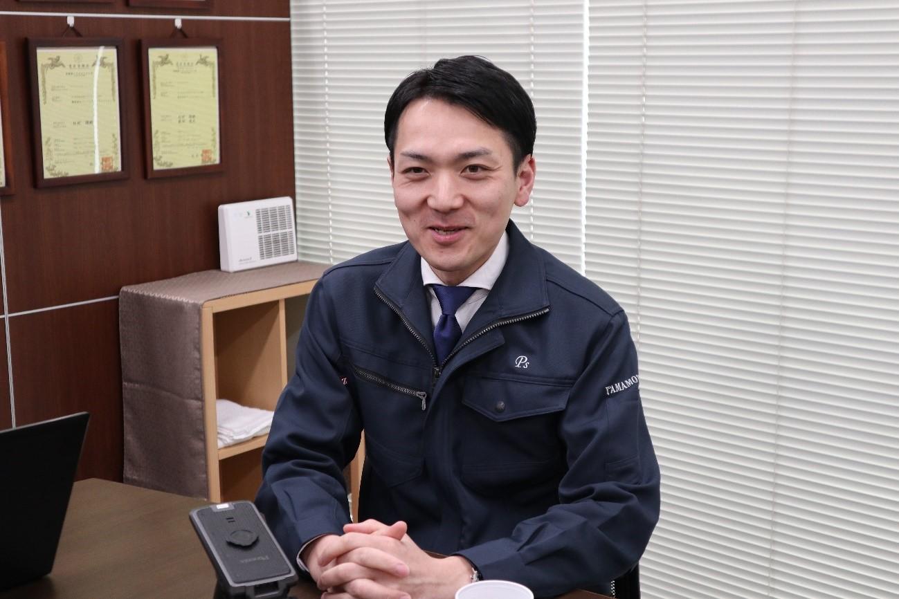 取締役営業部長・山本佑樹さん(画像提供 株式会社フェニックスソリューション)