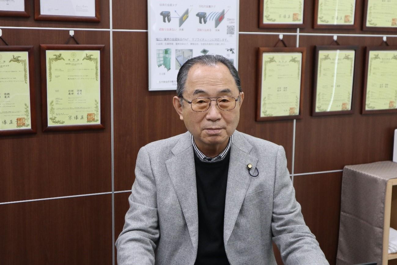 代表取締役社長・金岡久夫さん(画像提供 株式会社フェニックスソリューション)