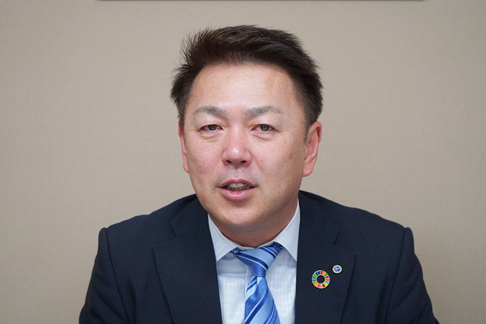 大塚実業株式会社 代表取締役の大塚雅之さん