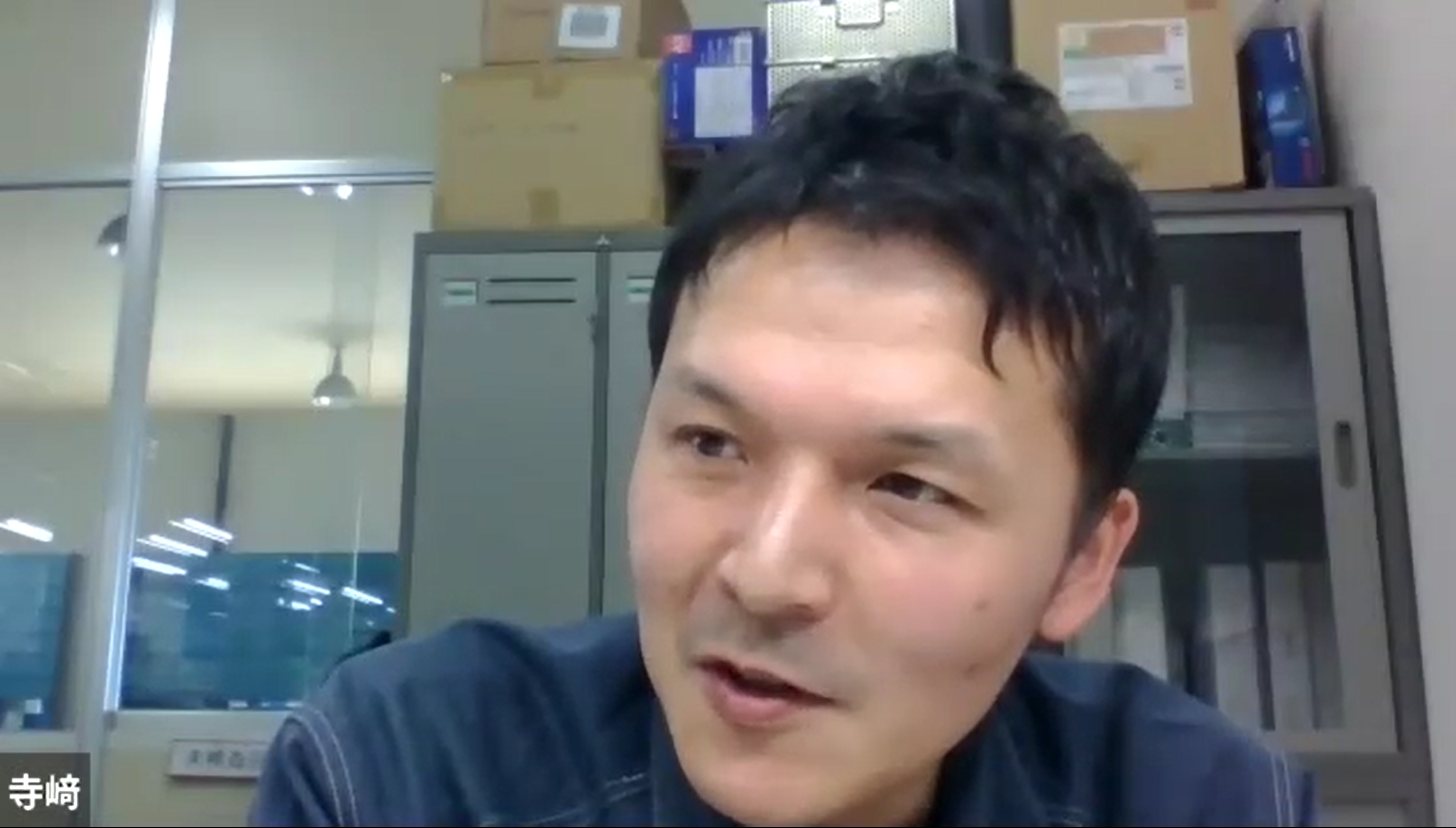 日本自動ドア株式会社 札幌営業所 マネージャー寺﨑和也さん