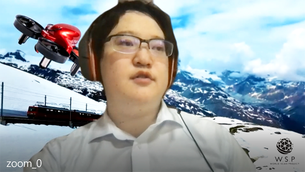 株式会社 BYD代表取締役井上創太さんのZoom取材の様子