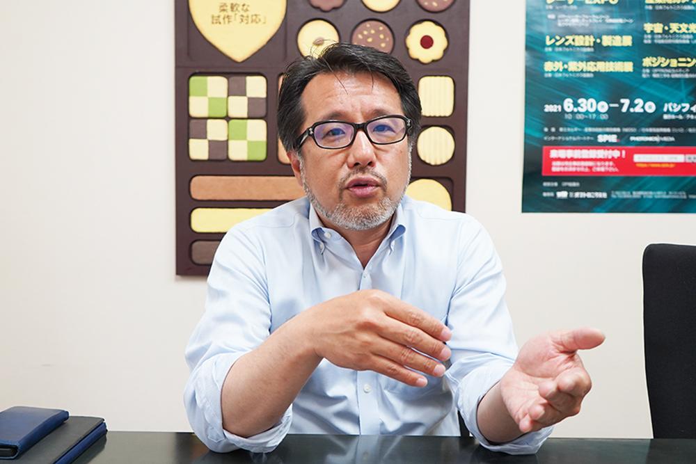 株式会社城南村田 代表 青沼隆宏さん
