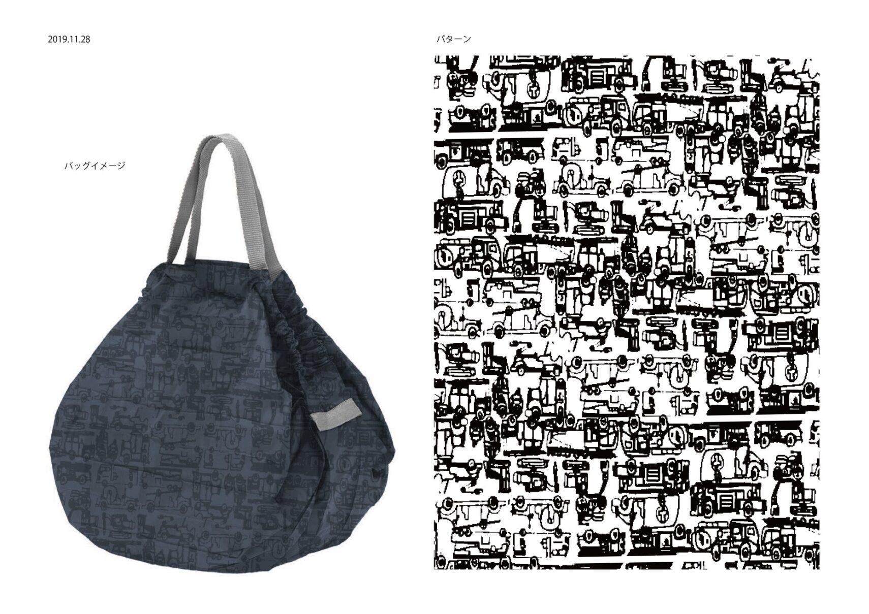 バッグとパターン