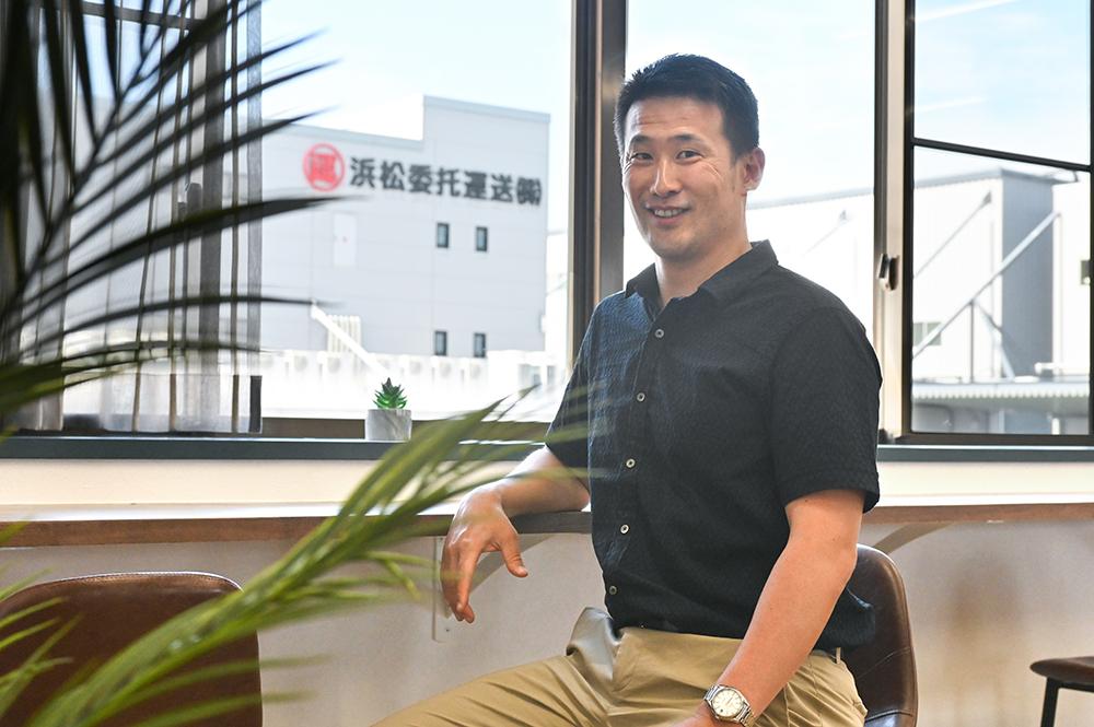 浜松委托運送株式会社 代表取締役社長 大野木 俊介さん