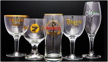 スーパーでビールと一緒に売られている専用グラス