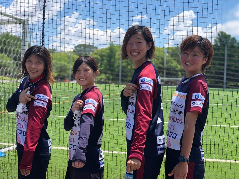 なでしこリーグNGUラブリッジ名古屋女子サッカー選手