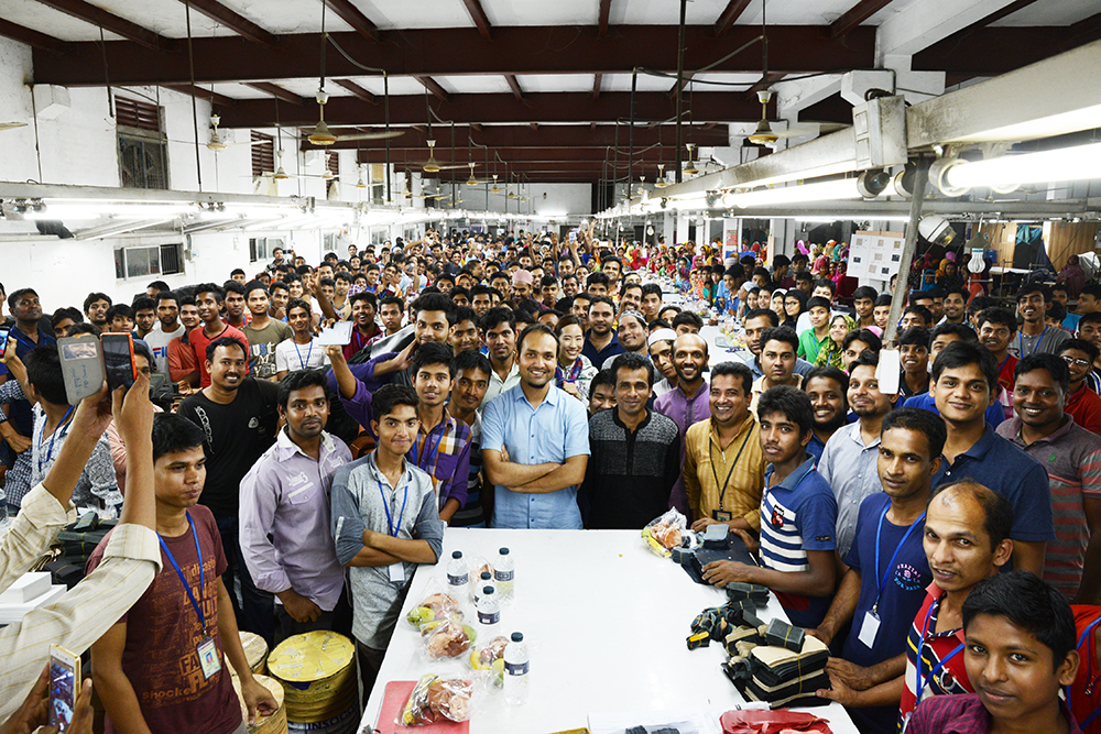 JOGGOバングラデシュ工場の皆さん
