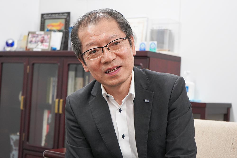 株式会社光アルファクス取締役本部長 竹内博文さん