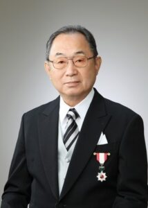 金岡久夫社長の旭日単光章を受章