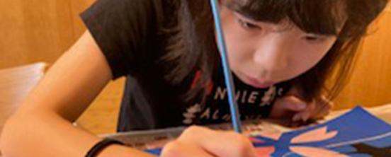 諸岡杏佳(もろおか・ももか)さん「自由で、希望にあふれた世界にするために、美術の教員になって子どもたちに絵の素晴らしさを伝えること」