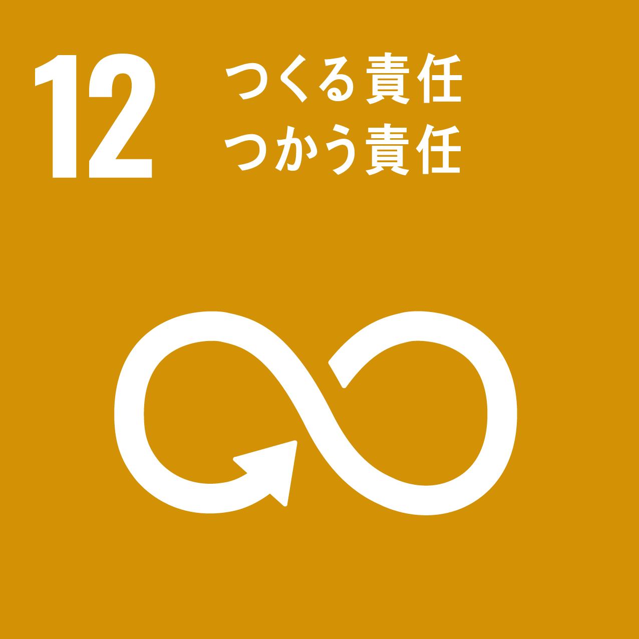SDGs目標12:つくる責任つかう責任のアイコン